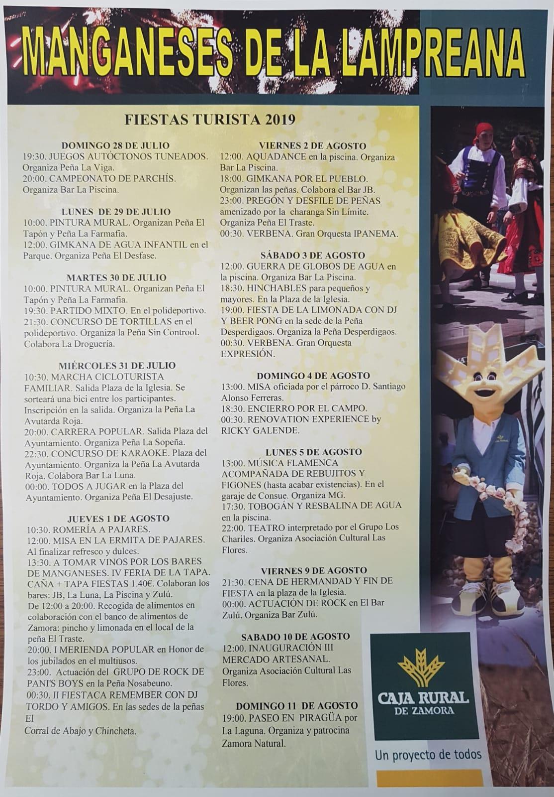 Fiestas del Turista 2019