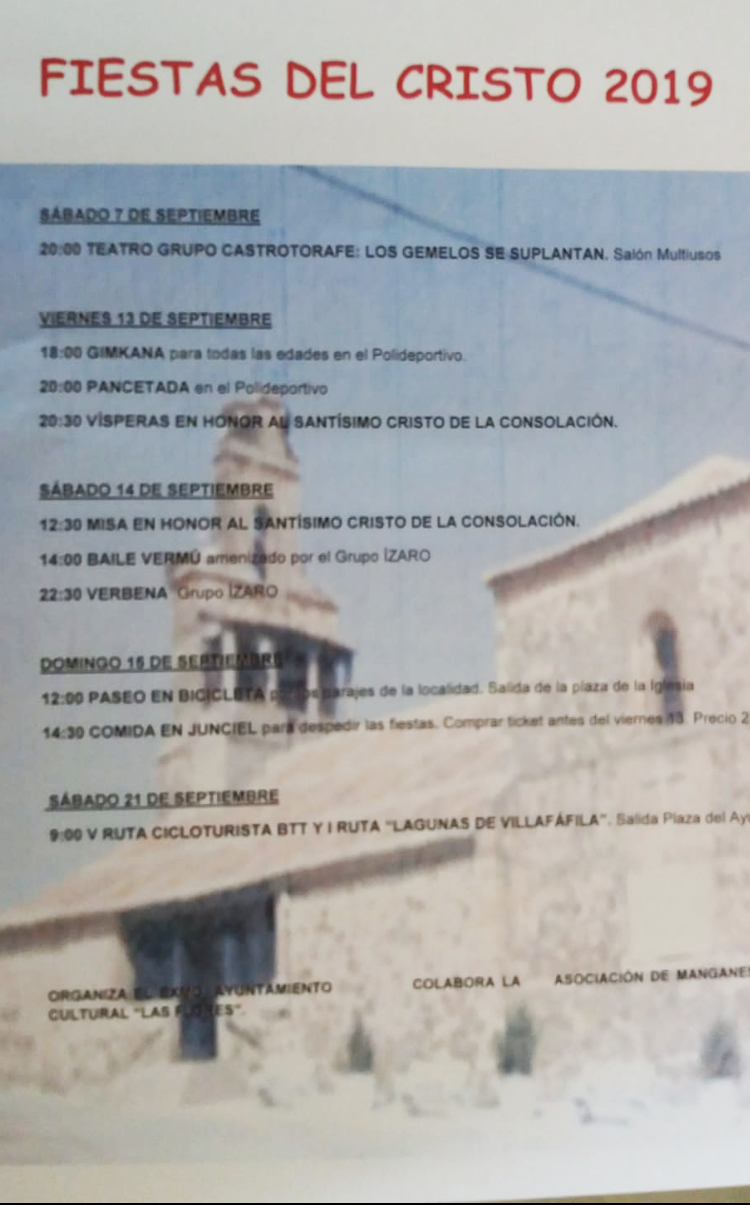 Fiestas del Cristo 2019