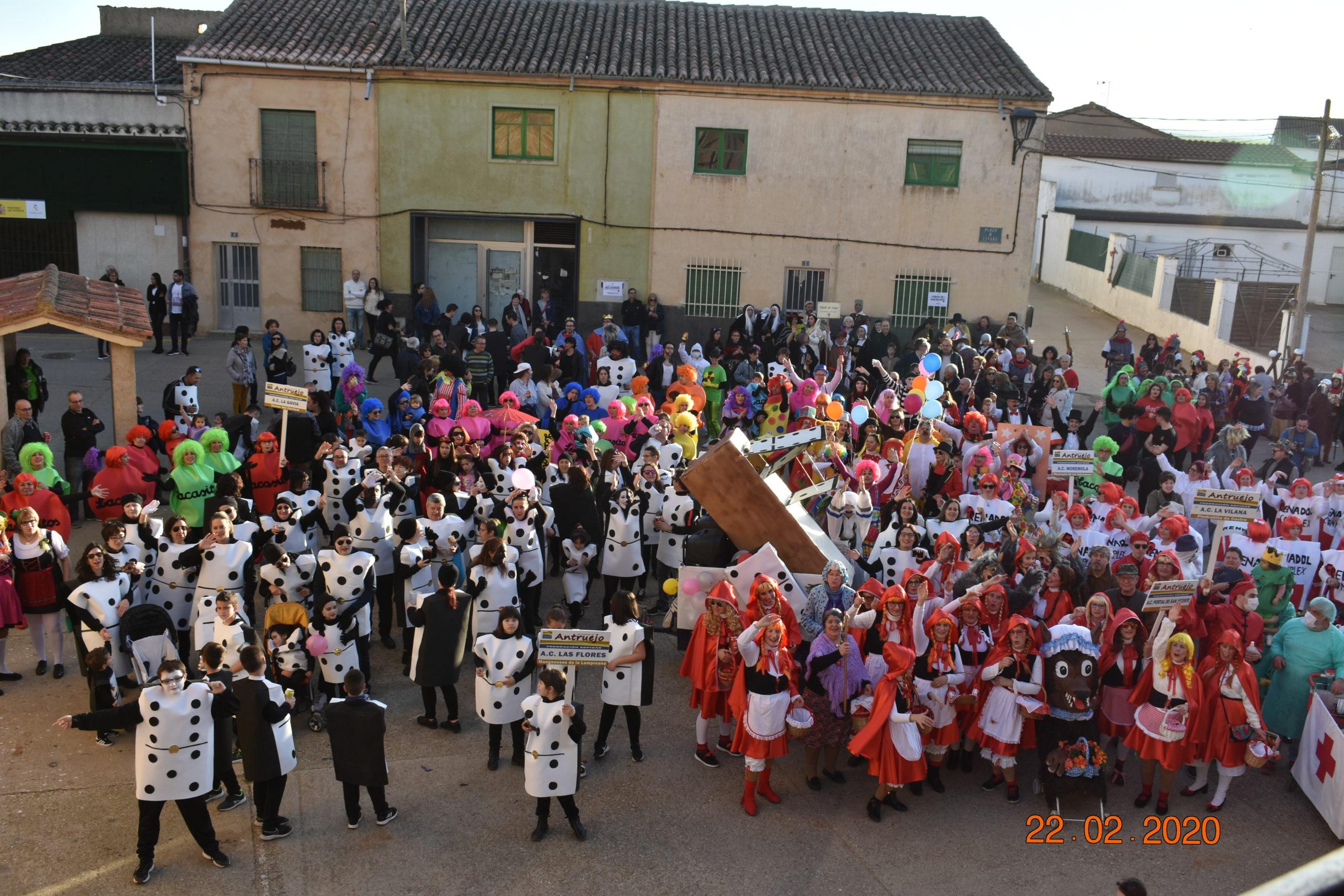 VIII Encuentro reviviendo el Antruejo en Manganeses de la Lampreana.