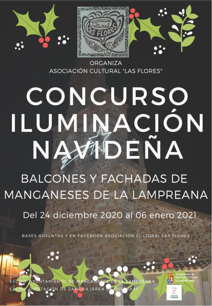 Concurso de Iluminación Navideña de las fachadas de Manganeses de la Lamprena.