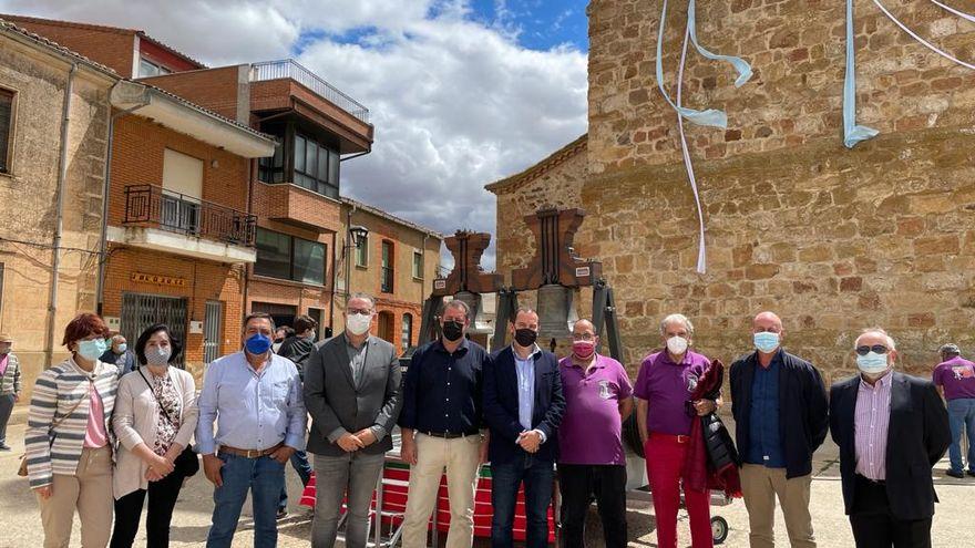 La Asociación Zamorana de Campaneros celebra su Patrono en Manganeses de la Lampreana.
