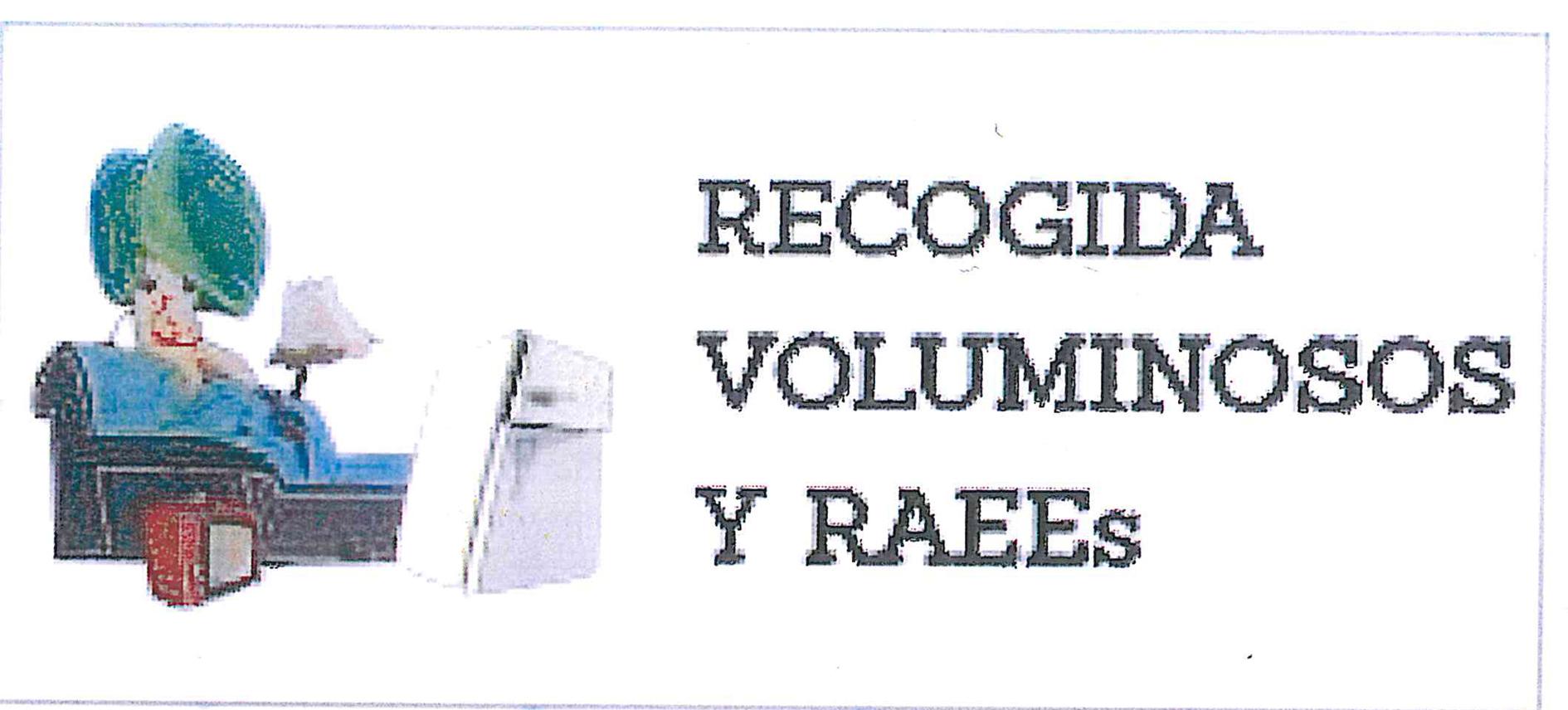 RECOGIDA DE VOLUMINOSOS Y RAEES EN MANGANESES DE LA LAMPREANA EL JUEVES 19 DE AGOSTO