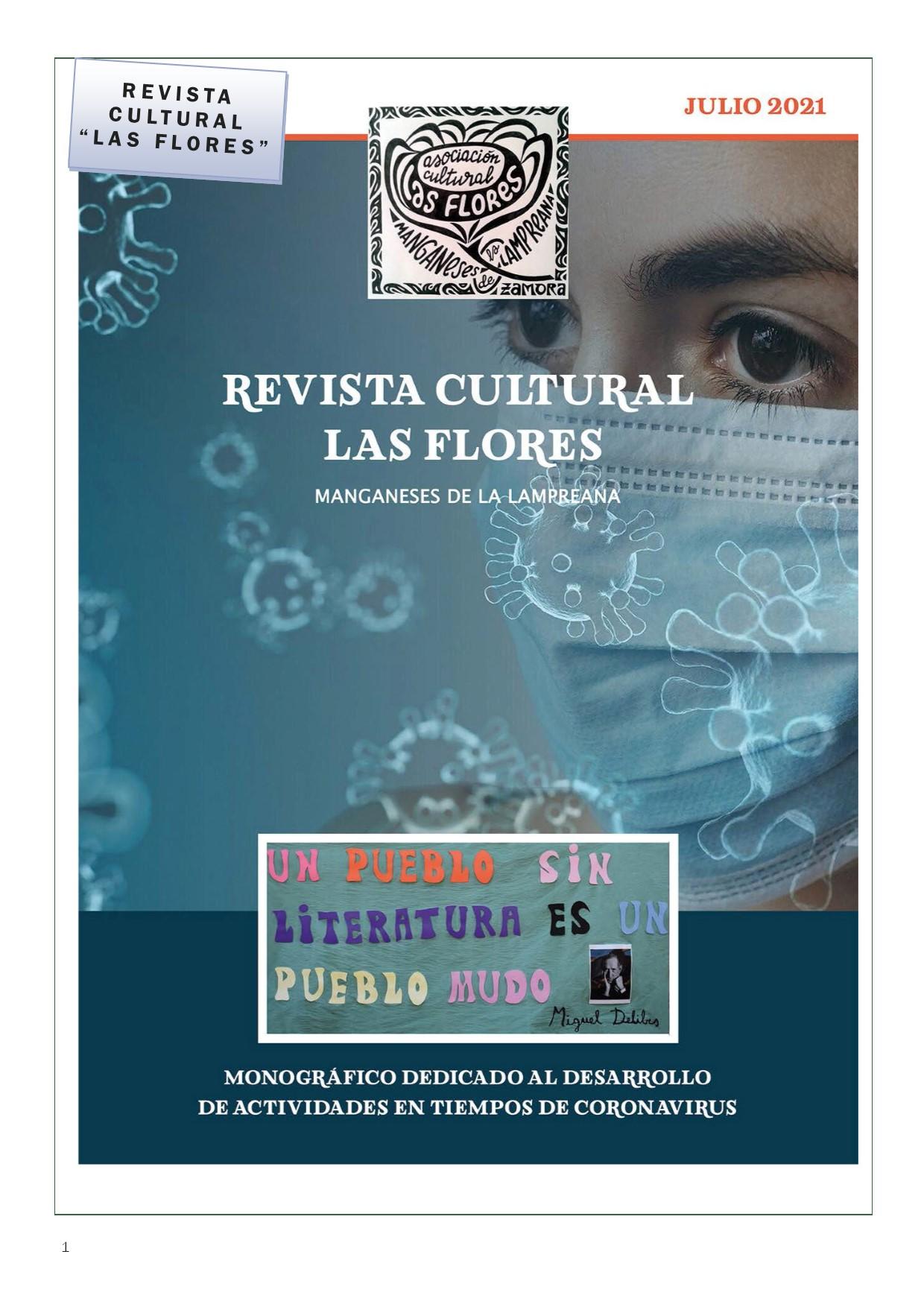 Revista Cultural Las Flores 2021